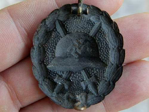 verwundetenabzeichen in schwarz legion condor
