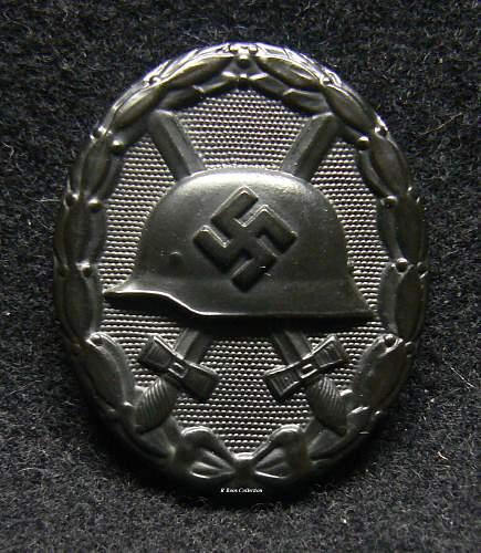 Verwundetenabzeichen 1939 in Schwarz, L/21, Förster & Barth