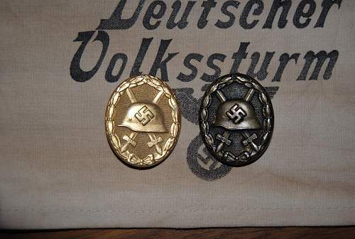 Opinions on Black and Gold Verwundetenabzeichen..