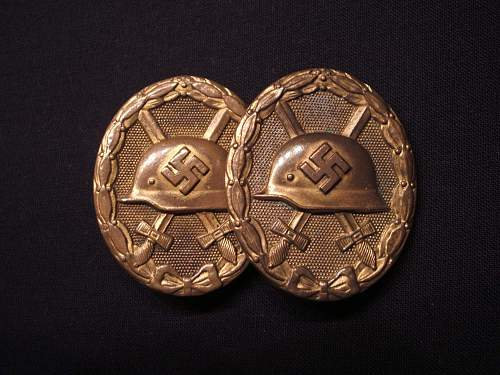 Gold Verwundeten Twins