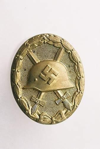 Gold Verwundetenabzeichen,,,opinions wanted