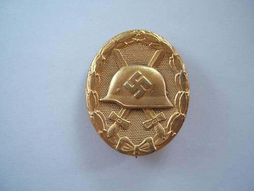 Opinions on Gold Verwundetenabzeichen..