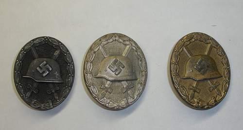 Verwundetenabzeichen in Silber, MM 65