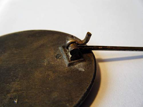 Verwundetenabzeichen in Silver L/56.