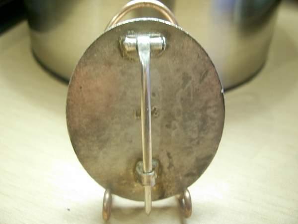 Verwundetenabzeichen im silber/ Silver wound badge