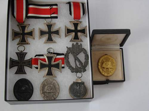 Part of my German medal collection