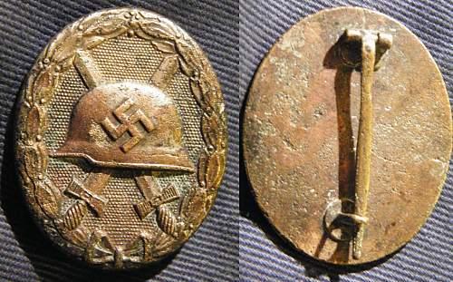 semi relic silver verwundetenabzeichen maker?