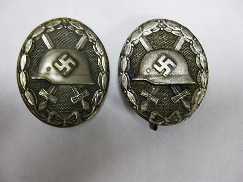 Verwundetenabzeichen vs Verwundetenabzeichen.....
