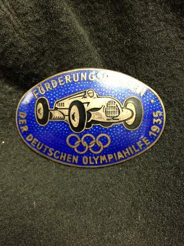 Verwundetenabzeichen in gold ... NSFK badge ...etc