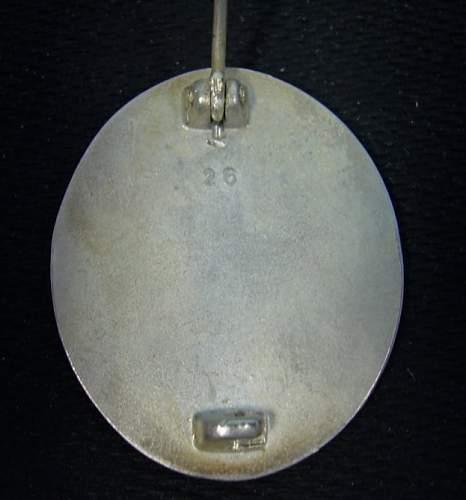 Verwundetenabzeichen 65