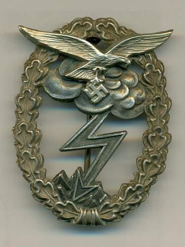 FJ Badge, GAB, EKII and SWB. Everything OK?