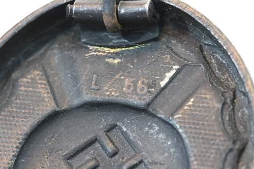 Verwundetenabzeichen L/56 Funcke Brunninghaus