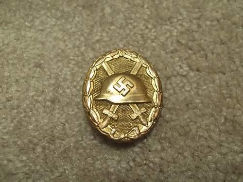 Opinions on Gold Verwundetenabzeichen?