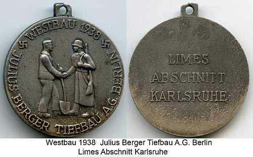 Opinions needed for this West Wall cased medal!!!!