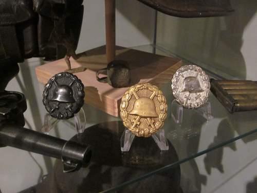 Verwundetenabzeichen 1939 in Gold MM 30