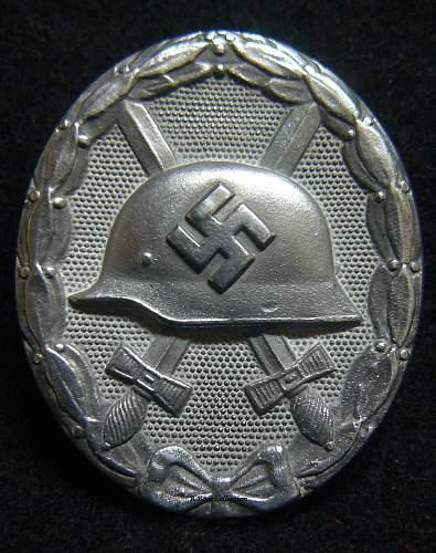 """Verwundetenabzeichen 1939 in Silber, Wilhelm Deumer """"3"""""""