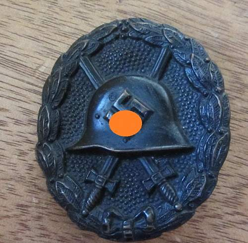 Verwundetenabzeichen für Spanienkämpfer and Verwundetenabzeichen silver original?