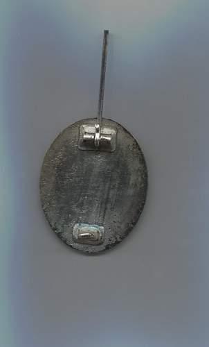 Verwundetenabzeichen 1939 in Silber L/18