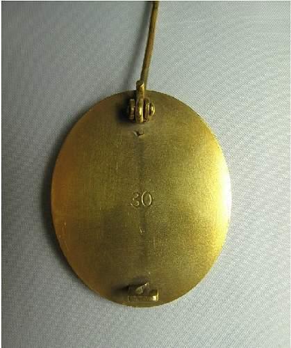 Original Verwundetenabzeichen 1939 in Gold?