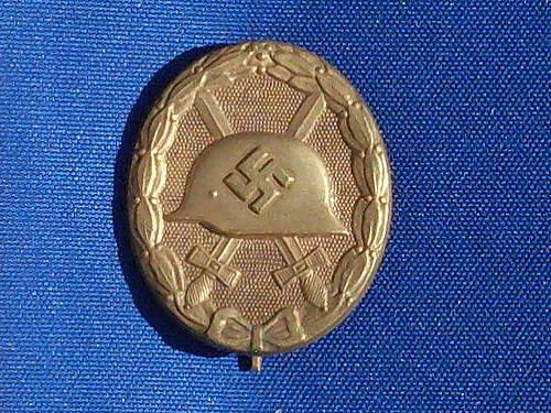 Verwundetenabzeichen(gold)