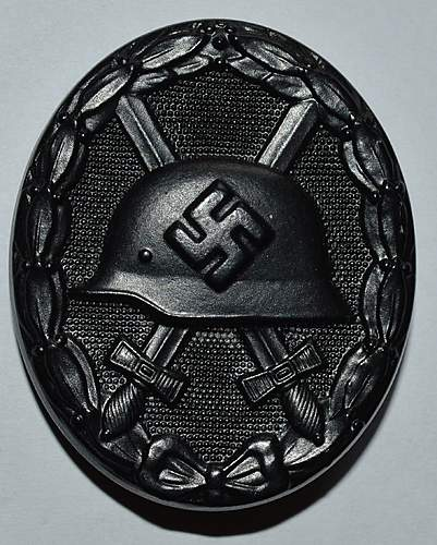 Verwundetenabzeichen 1939 in Schwarz - S&L x3