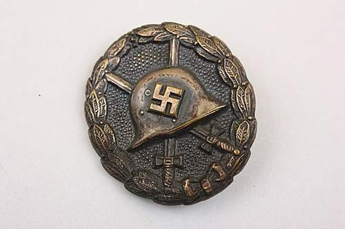 Post Your Verwundetenabzeichen Condor Legion.