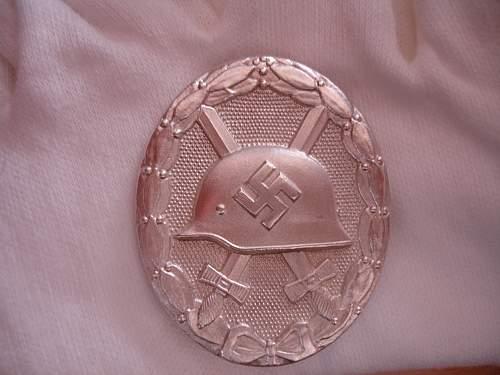 Verwundetenabzeichen 1939 in Silber