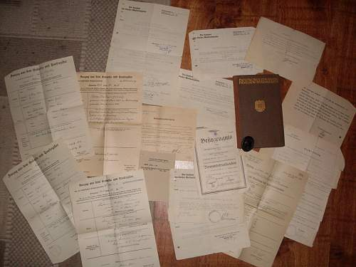 Verwunentenabzeichen in schwarz(paperwork?)