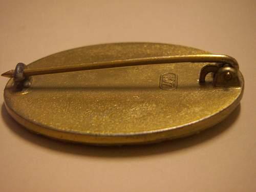 Wild Verwundetenabzeichen 1939 in Gold