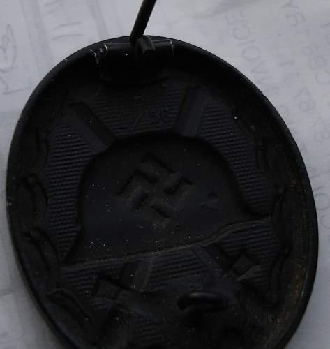 Verwundetenabzeichen 1939 in Schwarz  L/56