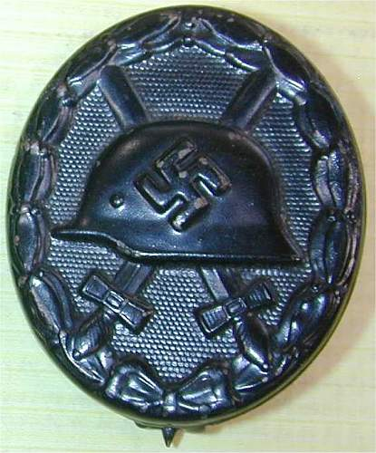 Click image for larger version.  Name:ww2 wound badgeblack 1.jpg Views:116 Size:50.2 KB ID:439503