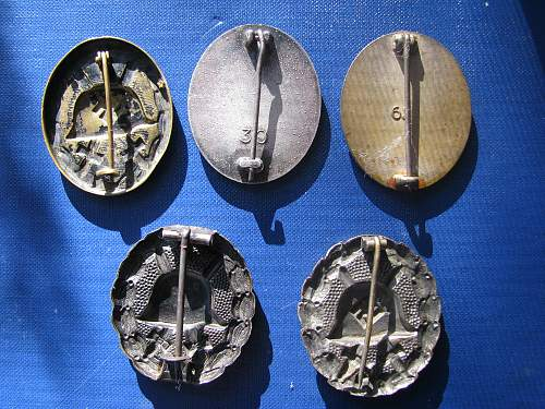 Verwundeten-Abzeichen collection