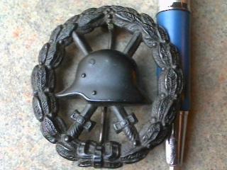 Verwundetenabzeichen 1918 in Schwarz - Share