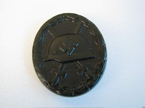 black wound badge -good or not ?