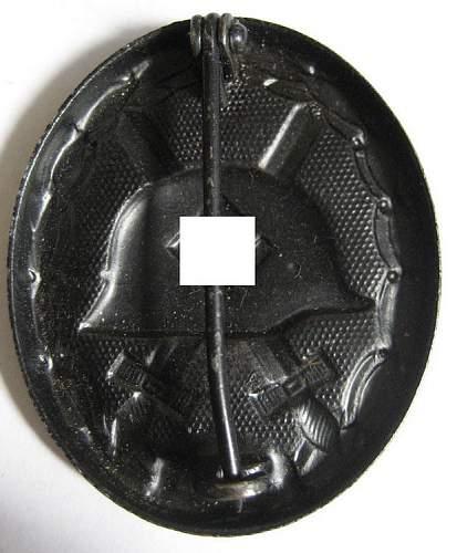 good or bad ? WW2 Black Wound Badge...