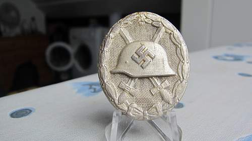 Verwundetenabzeichen Silber 100