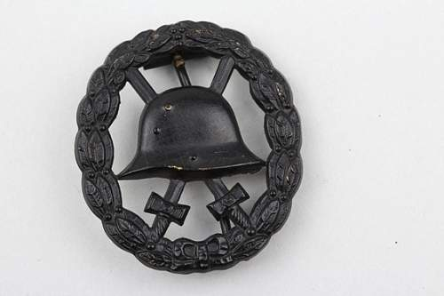 Asking for opinion on a wound badge