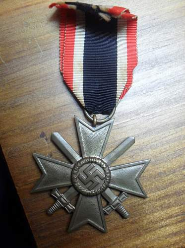 My new KVK II Klass and march 38 medals