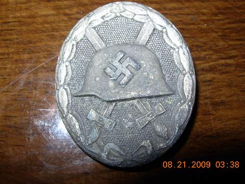 Opinions on this wound badge