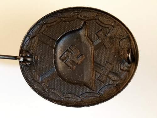 Verwundetenabzeichen/Black Wound Badge mm/ 4