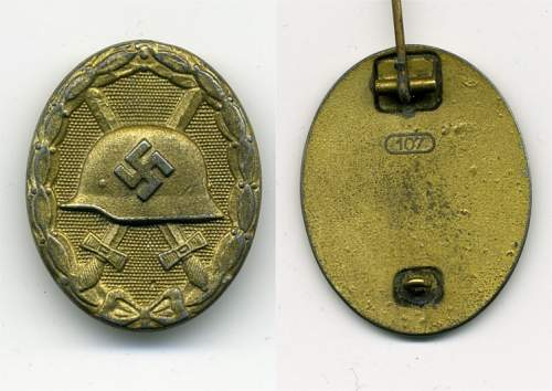 Click image for larger version.  Name:WOUND BADGE GOLD _MM107_  ZINC.jpg Views:682 Size:143.0 KB ID:57345