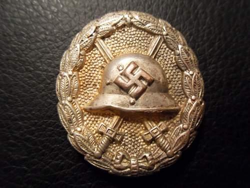 Verwundetenabzeichen Condor Legion in Silber - Share