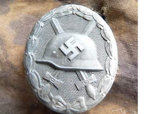 verwunderenabzeichen in silver ,,26,, question