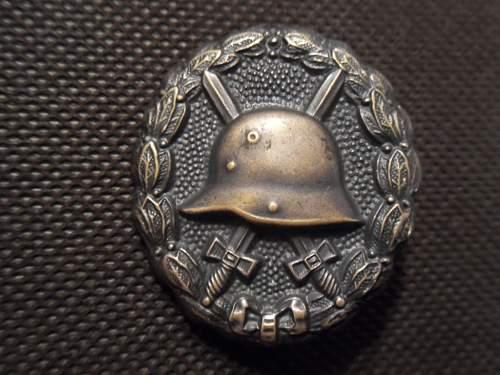 Verwundetenabzeichen 1918 in Schwarz - Opinions Need