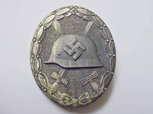 """Questionable Find"" #2 - Silver Grade Wound Badge"