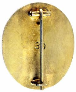 Wound badge gold original or not??