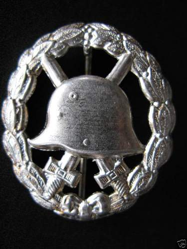 Click image for larger version.  Name:WW2 German Army  WOUND BADGE01.jpg Views:2114 Size:55.1 KB ID:66995