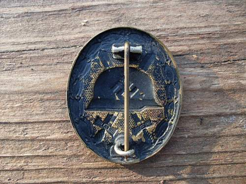 Early war Wound Badge 3rd Class