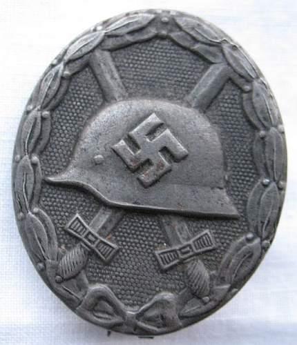 x3 Wound Badges (Verwundetenabzeichen)