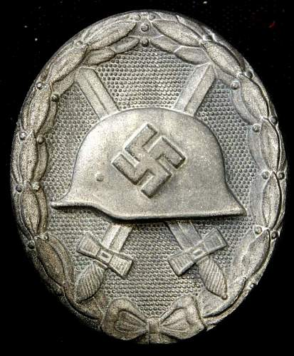 Silver Wound Badges